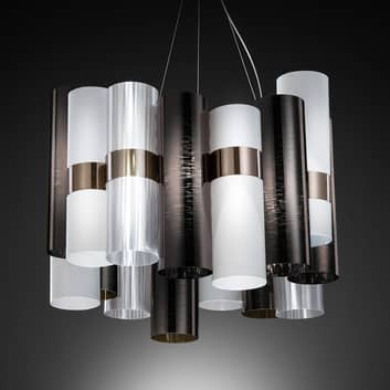 Slamp La Lollo Medium lámpara estaño/blanco