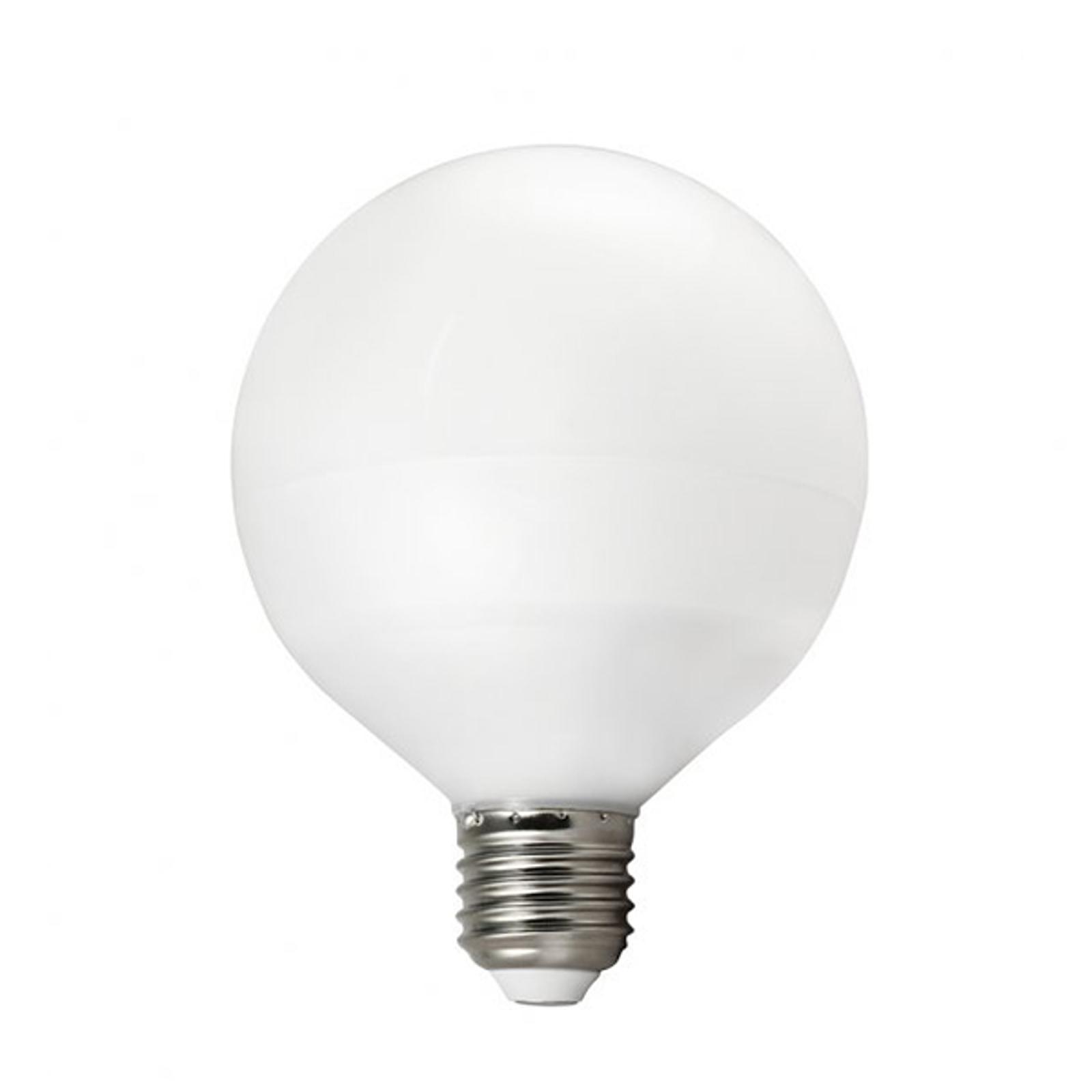 E27 13W 827 LED žárovka globe G95 teplá bílá