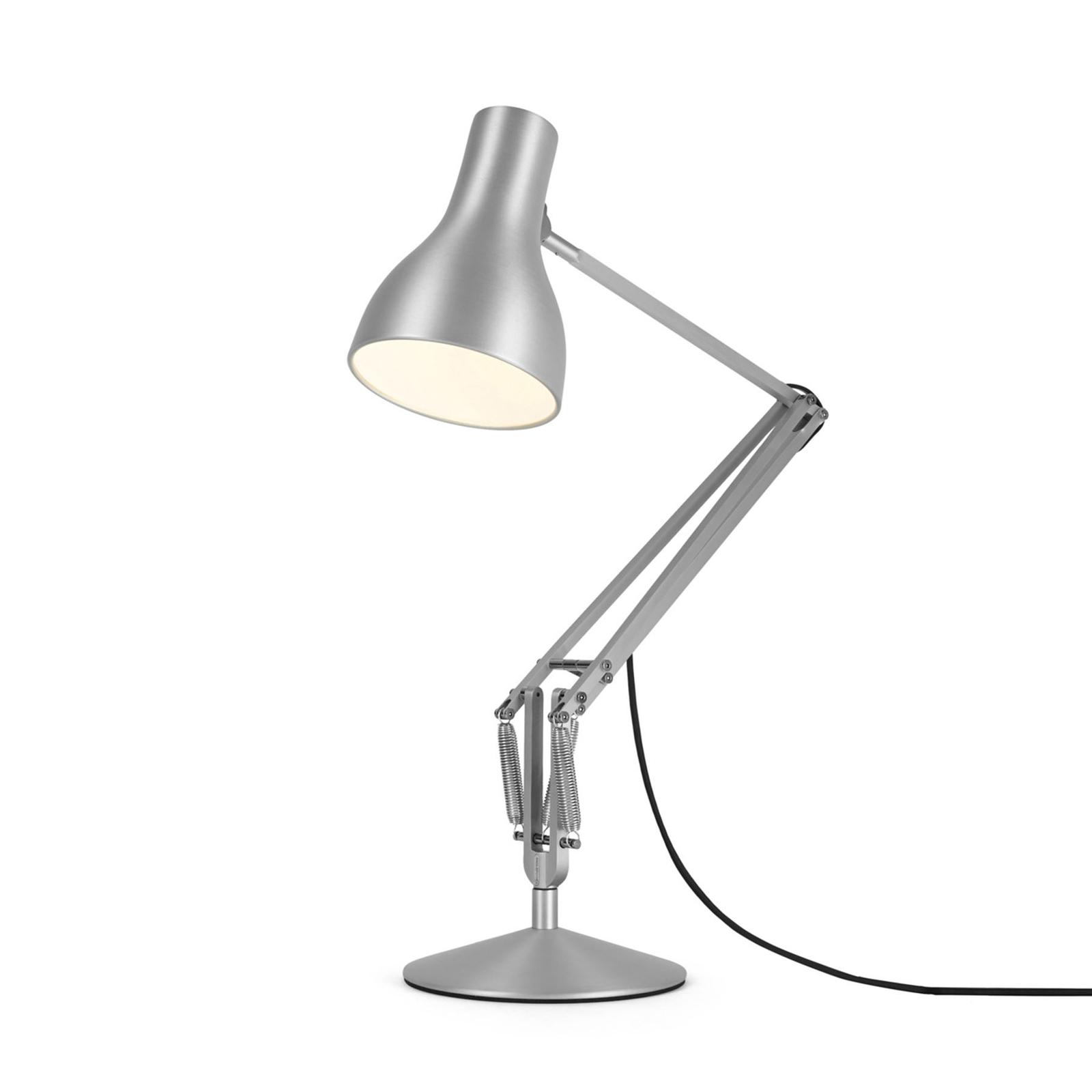 Anglepoise Type 75 tafellamp zilverglans