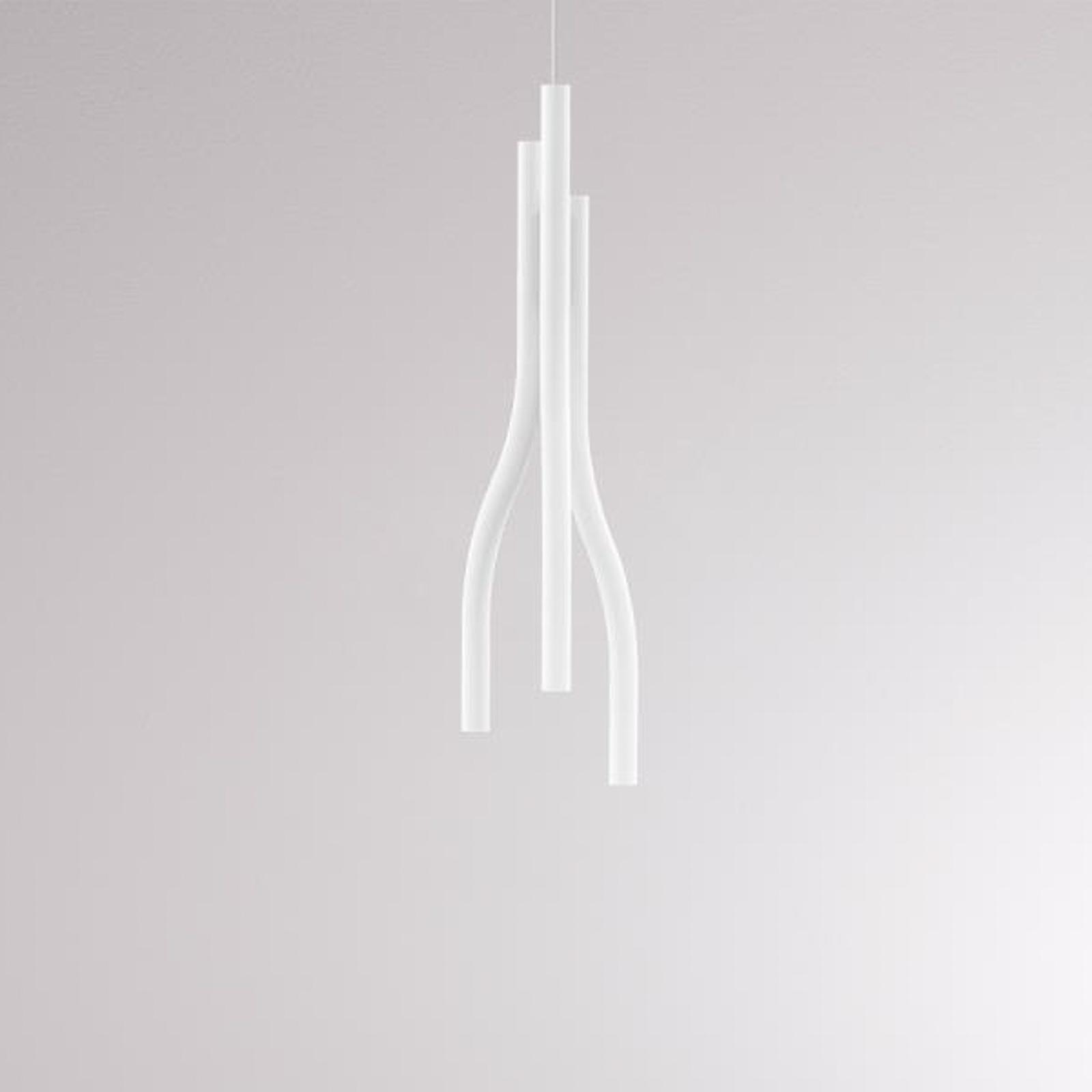 LOUM Algae M LED-Hängelampe 2.700 K dim weiß