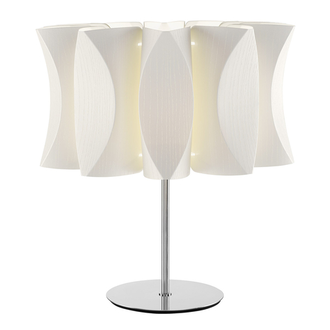 Lámpara de mesa Lume Virus