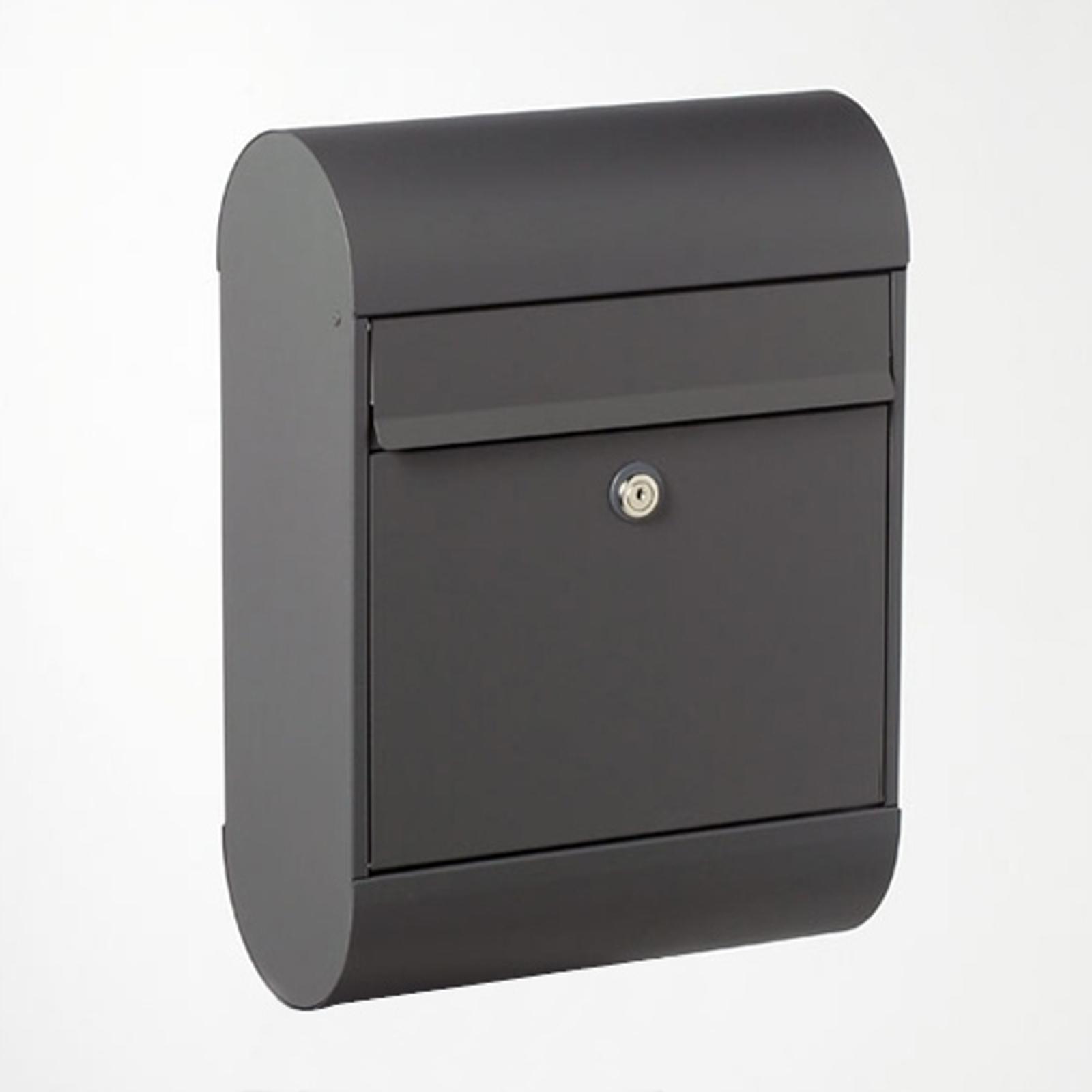 Scandinavische brievenbus 6000, zwart