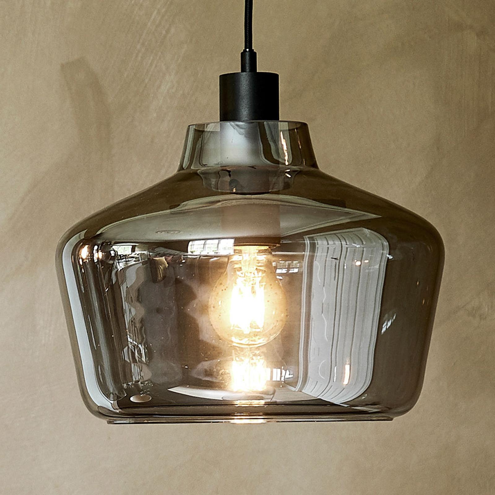 FRANDSEN Kyoto glashængelampe, Ø 30 cm