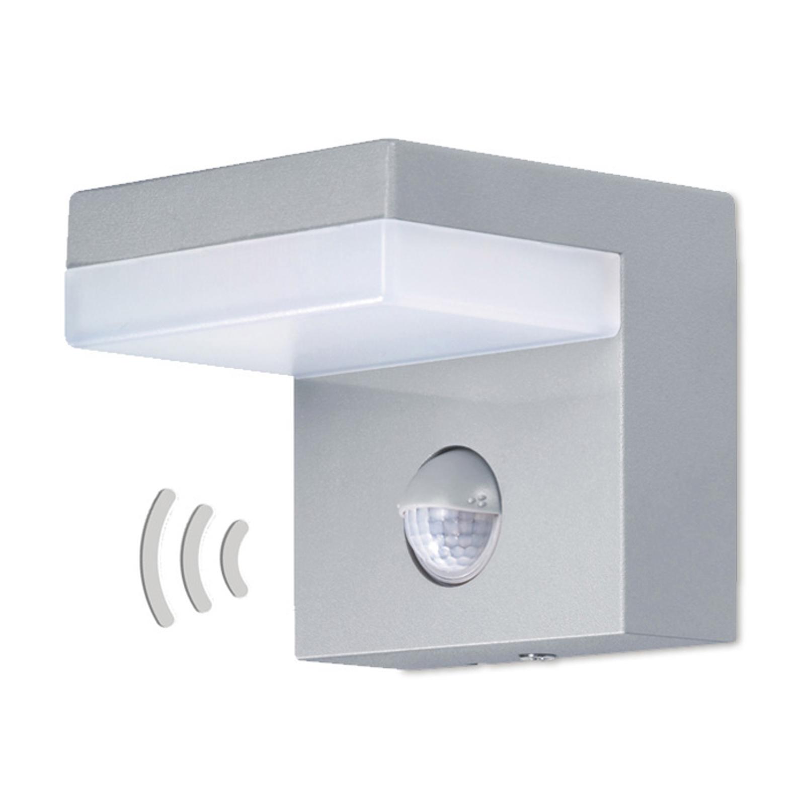 Bewegingsmelder-buitenwandlamp 800 lumen met LED