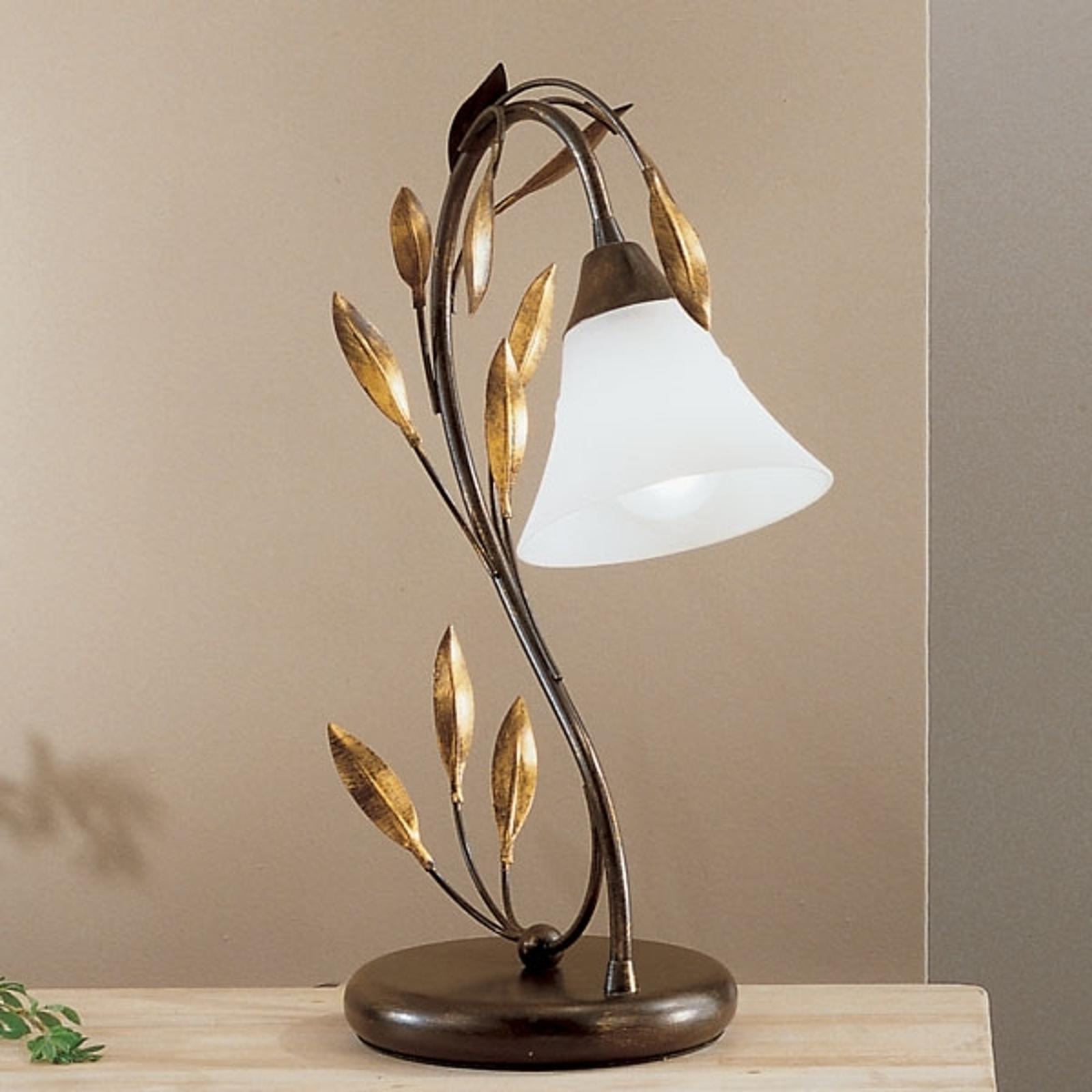 Slanciata lampada da tavolo CAMPANA