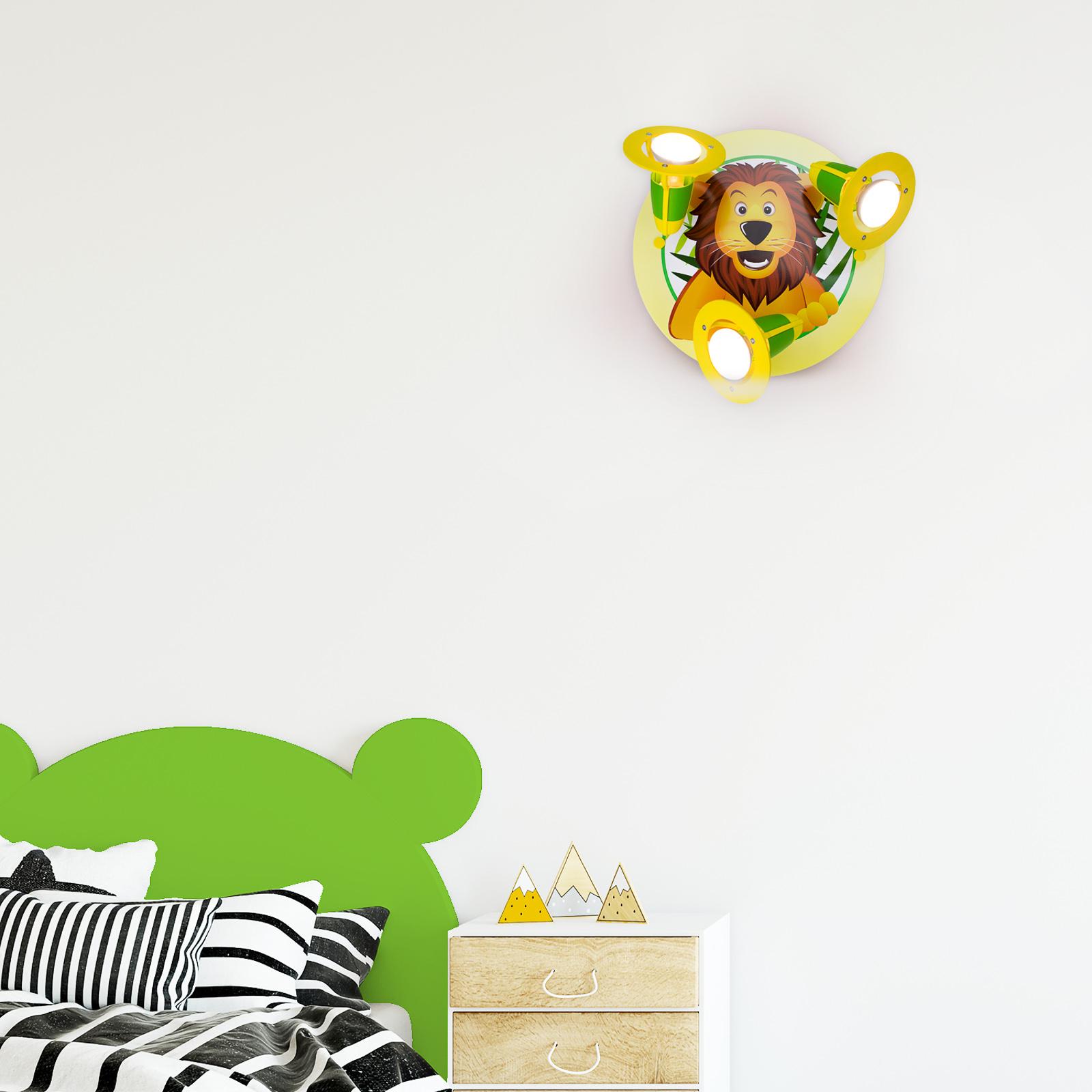 Deckenleuchte Löwe fürs Kinderzimmer