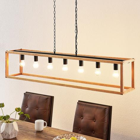 Lucande Sedrik hanglamp, 7-lamps