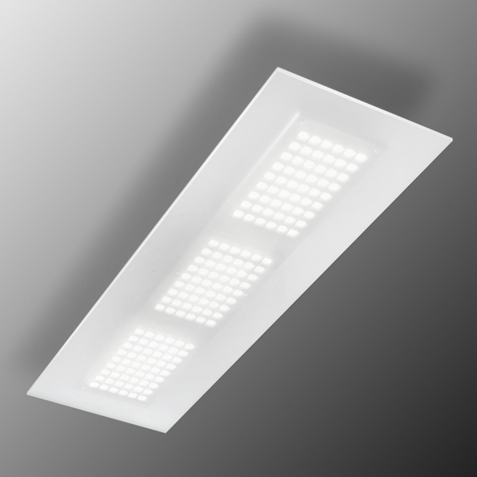 Dublight lyssterk LED-taklampe