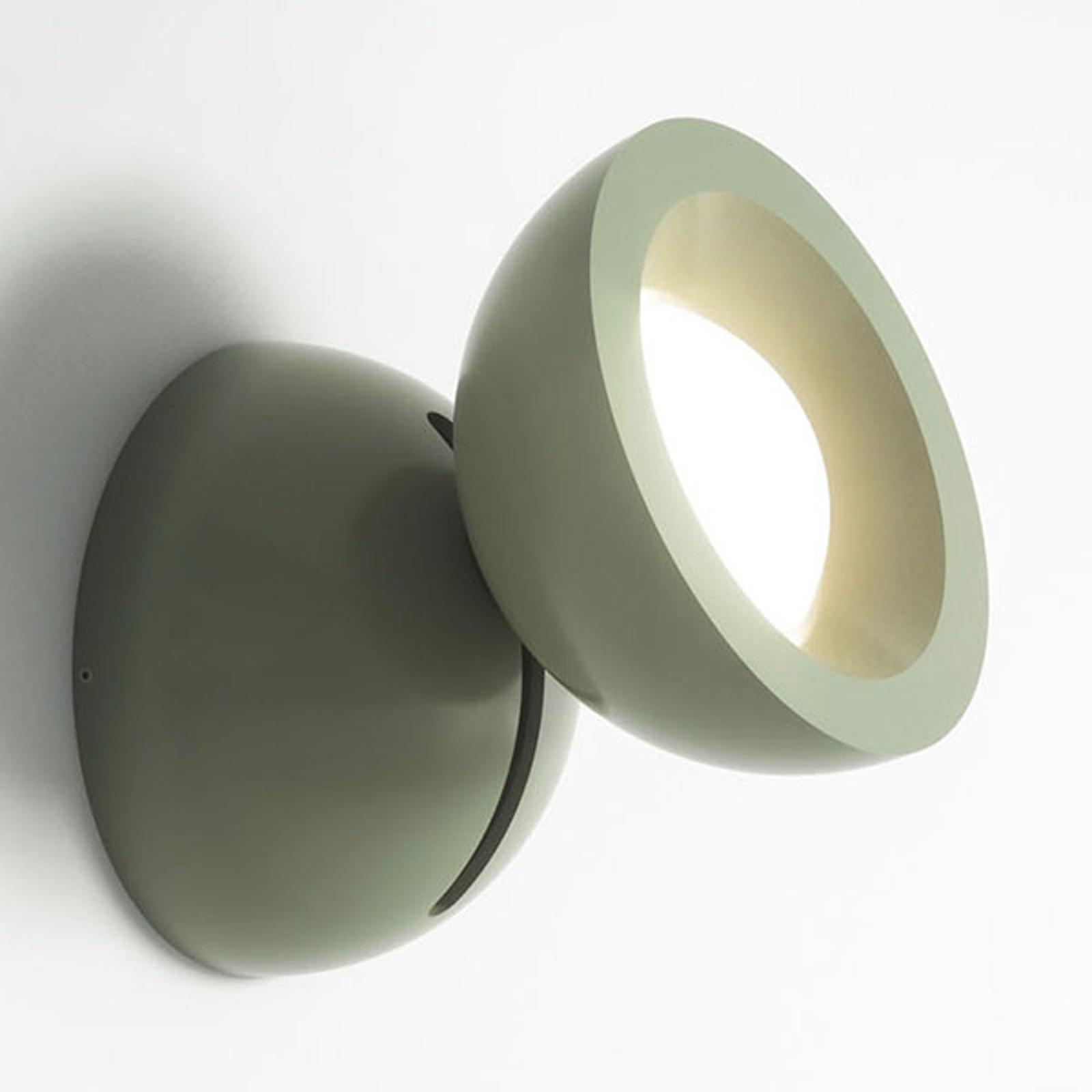 Axolight DoDot LED-Wandleuchte, grün 35°
