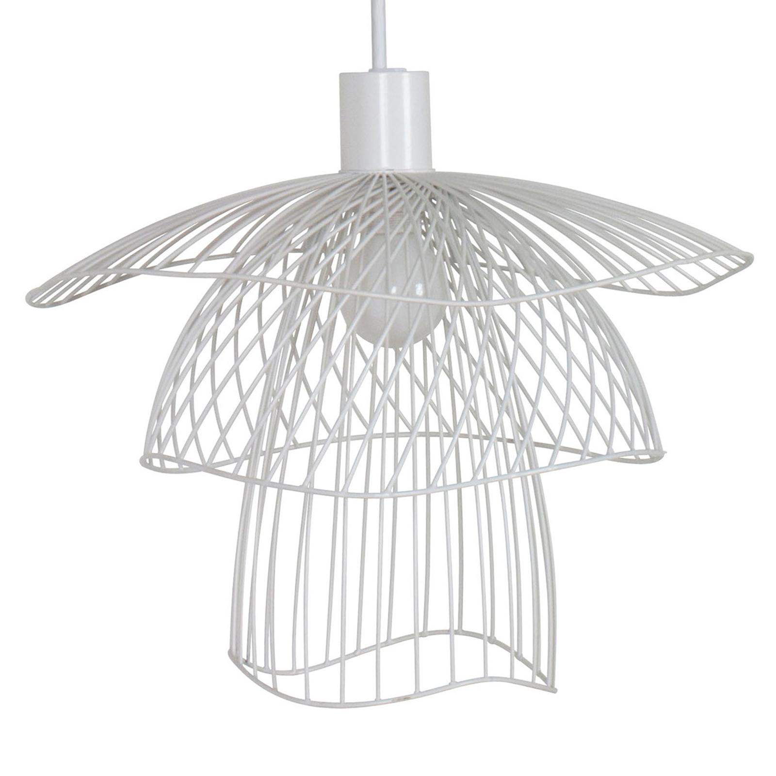 Forestier Papillon XS hanglamp 30 cm wit