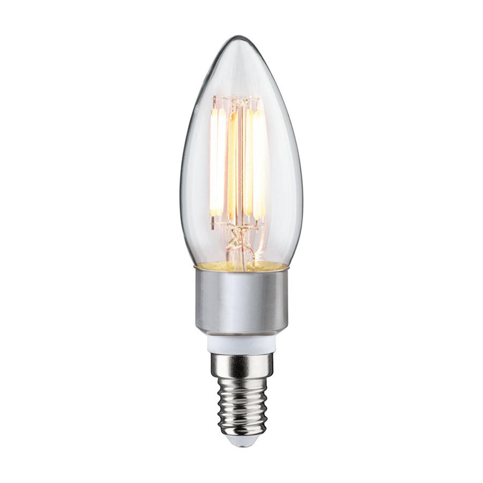 Paulmann LED-Kerzenlampe E14 5W dim to warm