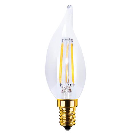 E14 3,5W 922 LED svíčková žárovka Vintage čirá