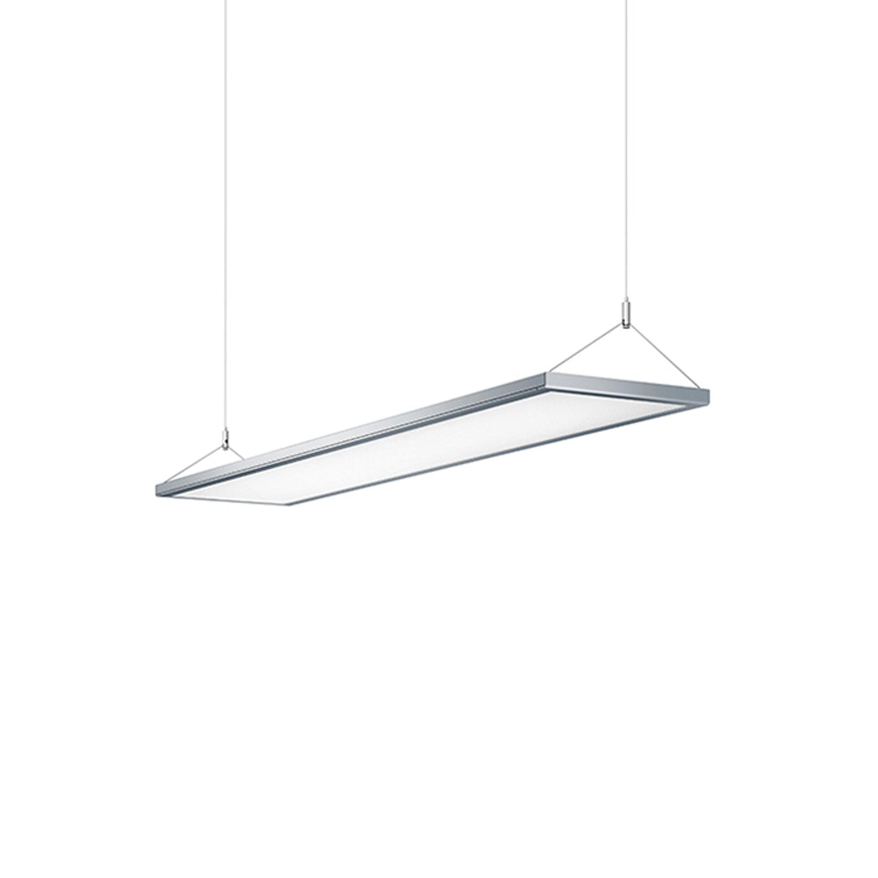Lampa wisząca LED IDOO do biur 49W, srebrna