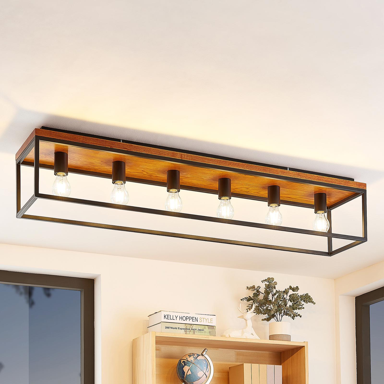 Lindby Miravi plafondlamp, 6-lamps