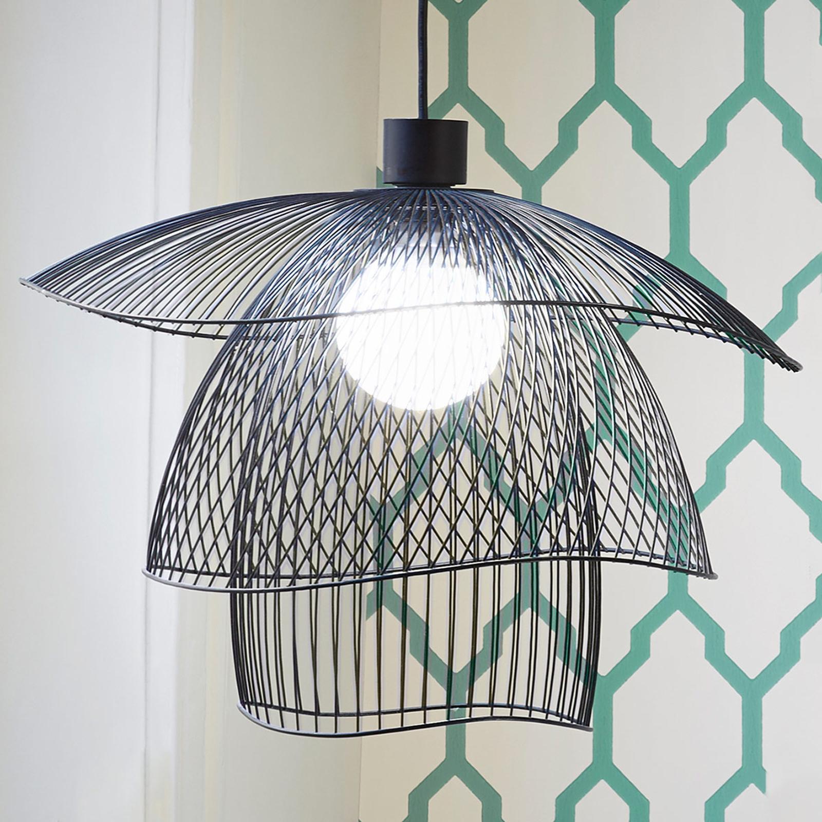 Forestier Papillon S hanglamp 56 cm zwart