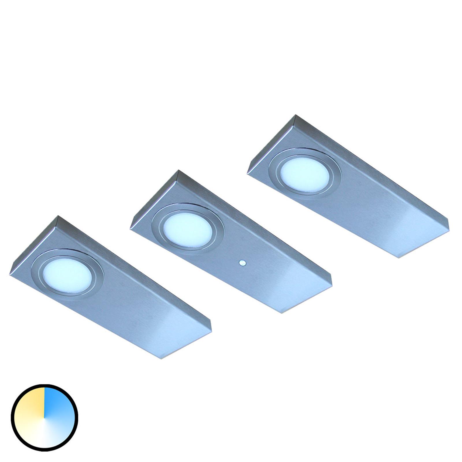Acquista 3 lampade LED per mobili Tain con gioco di colori