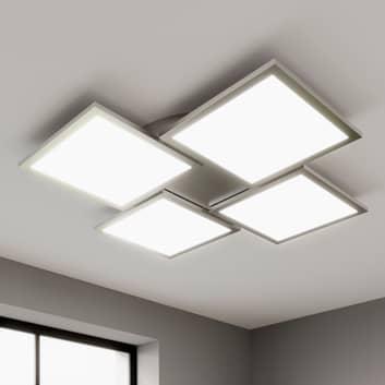 LED-Deckenleuchte Ilira, dimmbar, CCT, 4-flammig