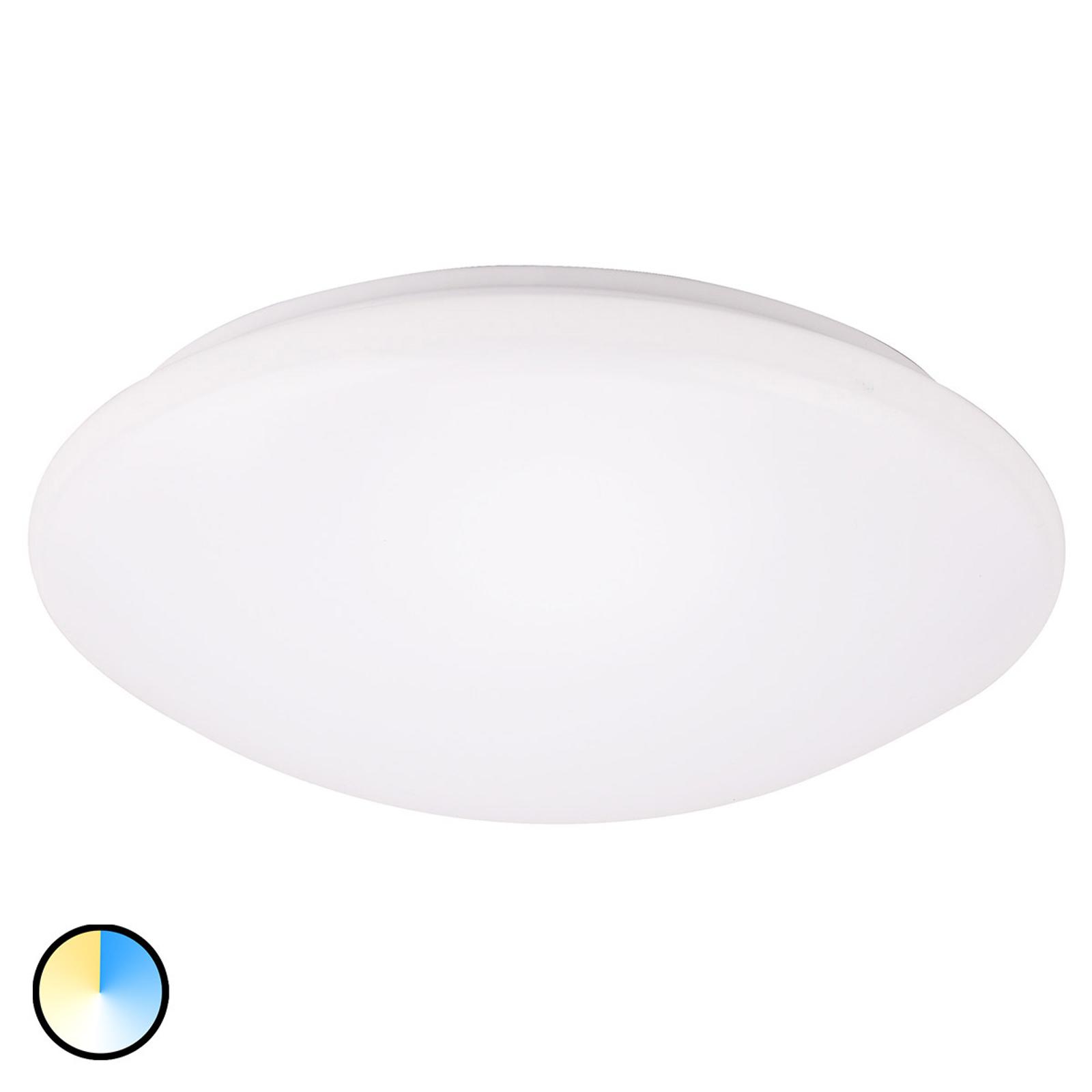 Lampa sufitowa LED Wandsbek z 3 kolorami światła
