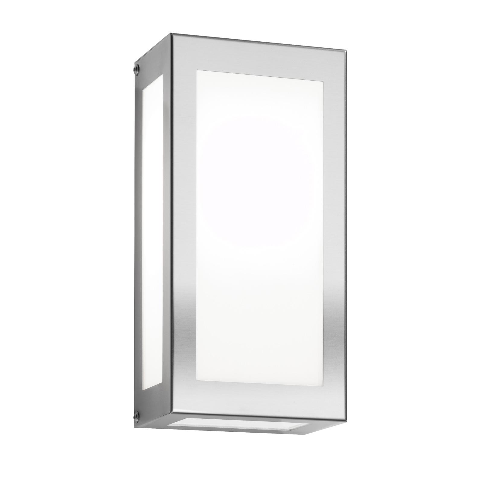 Lampada parete esterni LED Kina parallelepipedo