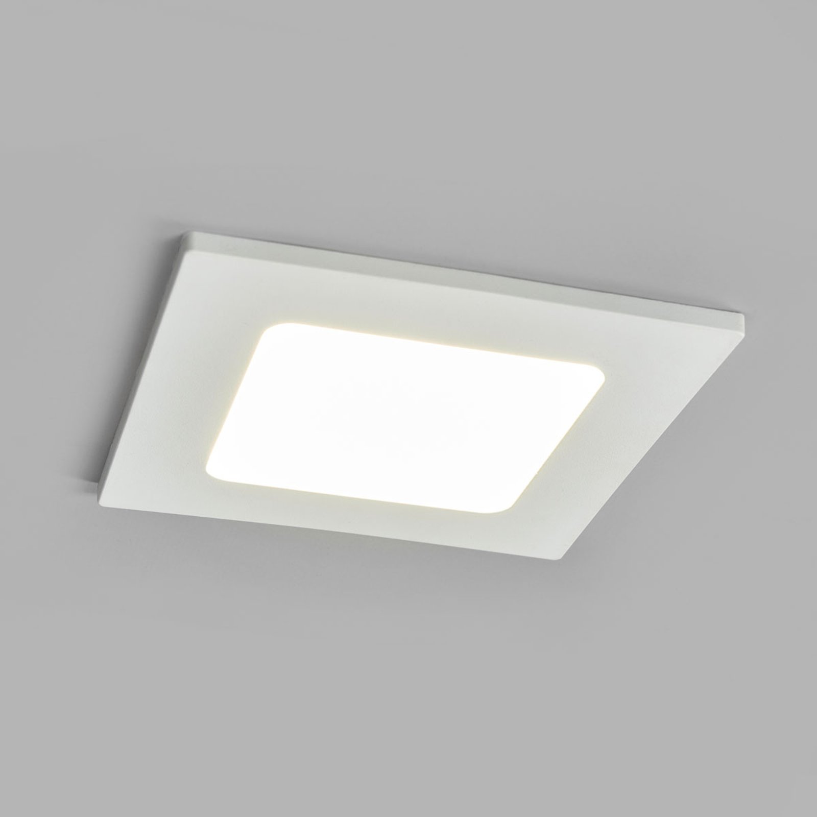 LED-kohdevalo Joki valkoinen 4000K kulmikas 11,5cm