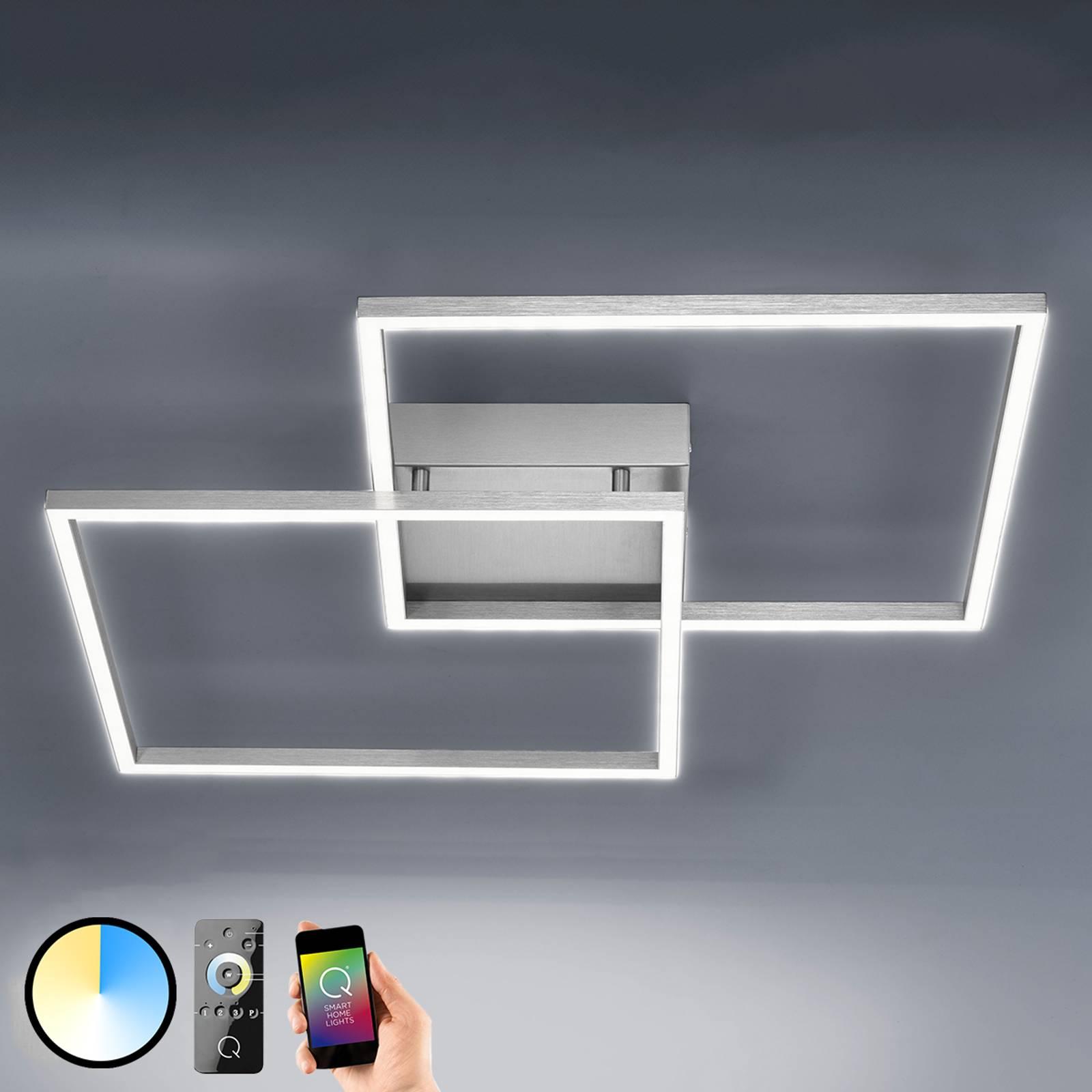 Inigo – lampa sufitowa LED z pilotem, 53cm