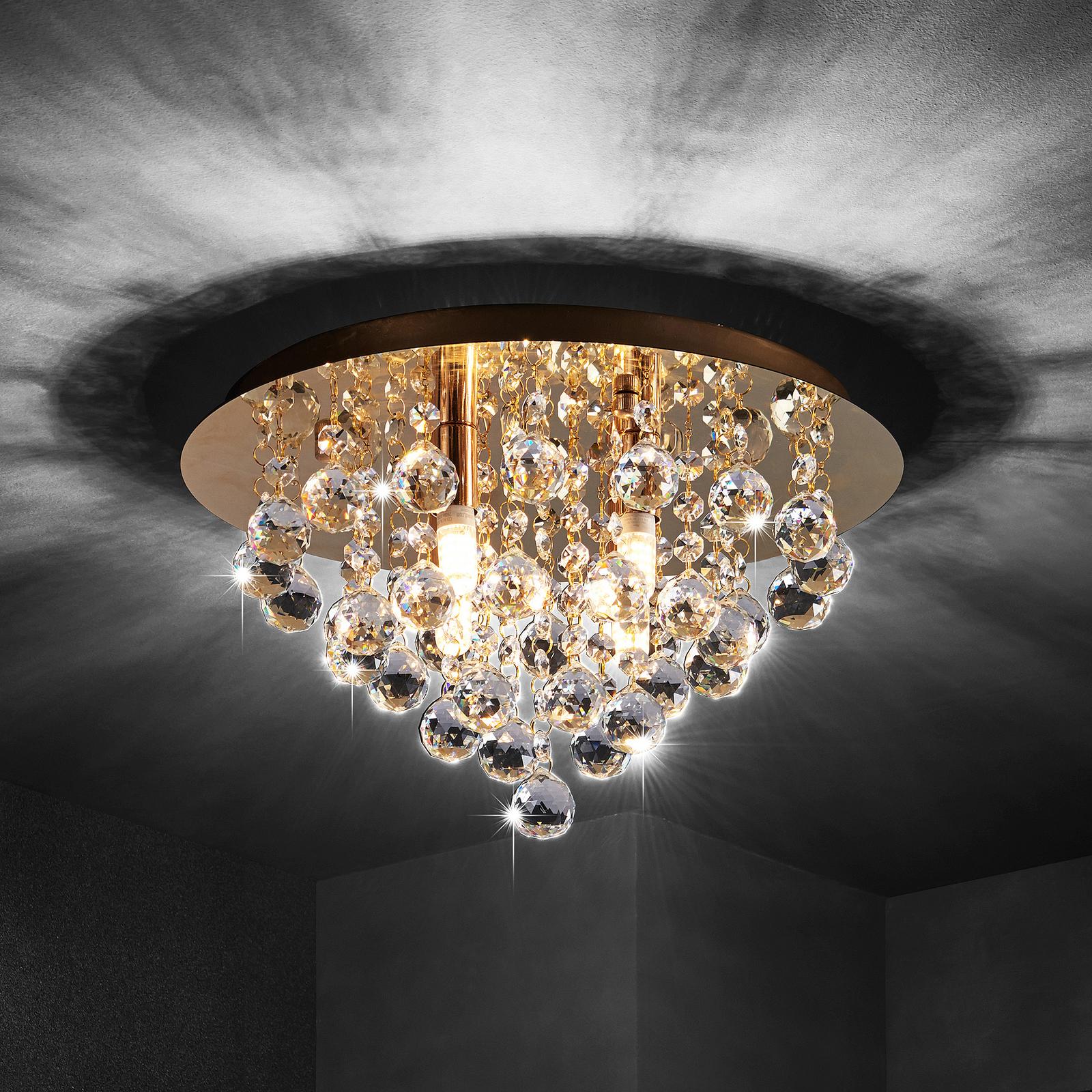 Lindby Gillion taklampa, 4 lampor