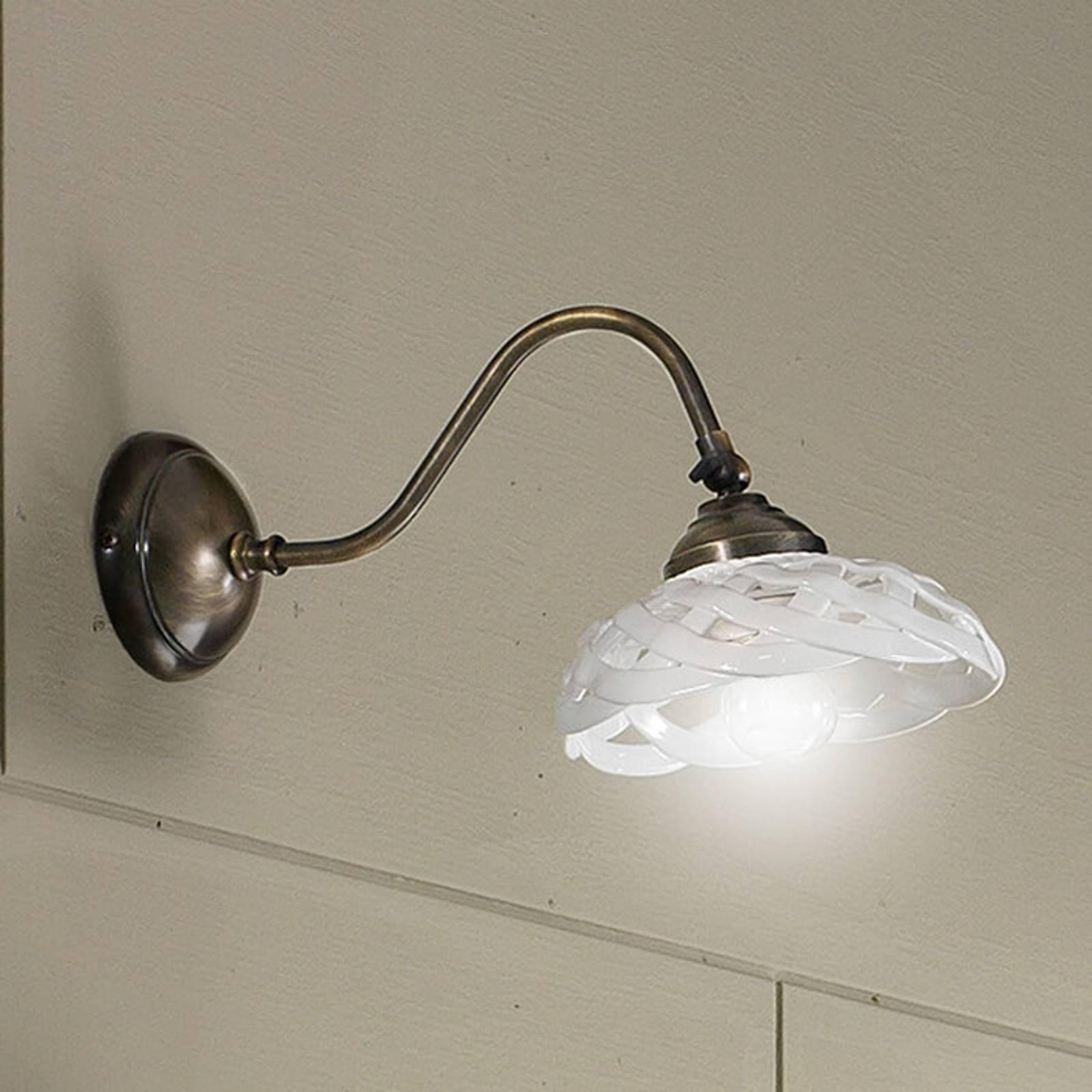 Wandlamp Emanuel keramiek bereik 33 cm