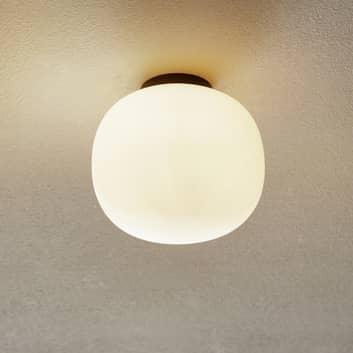 Bombo loftlampe, mælkeglas