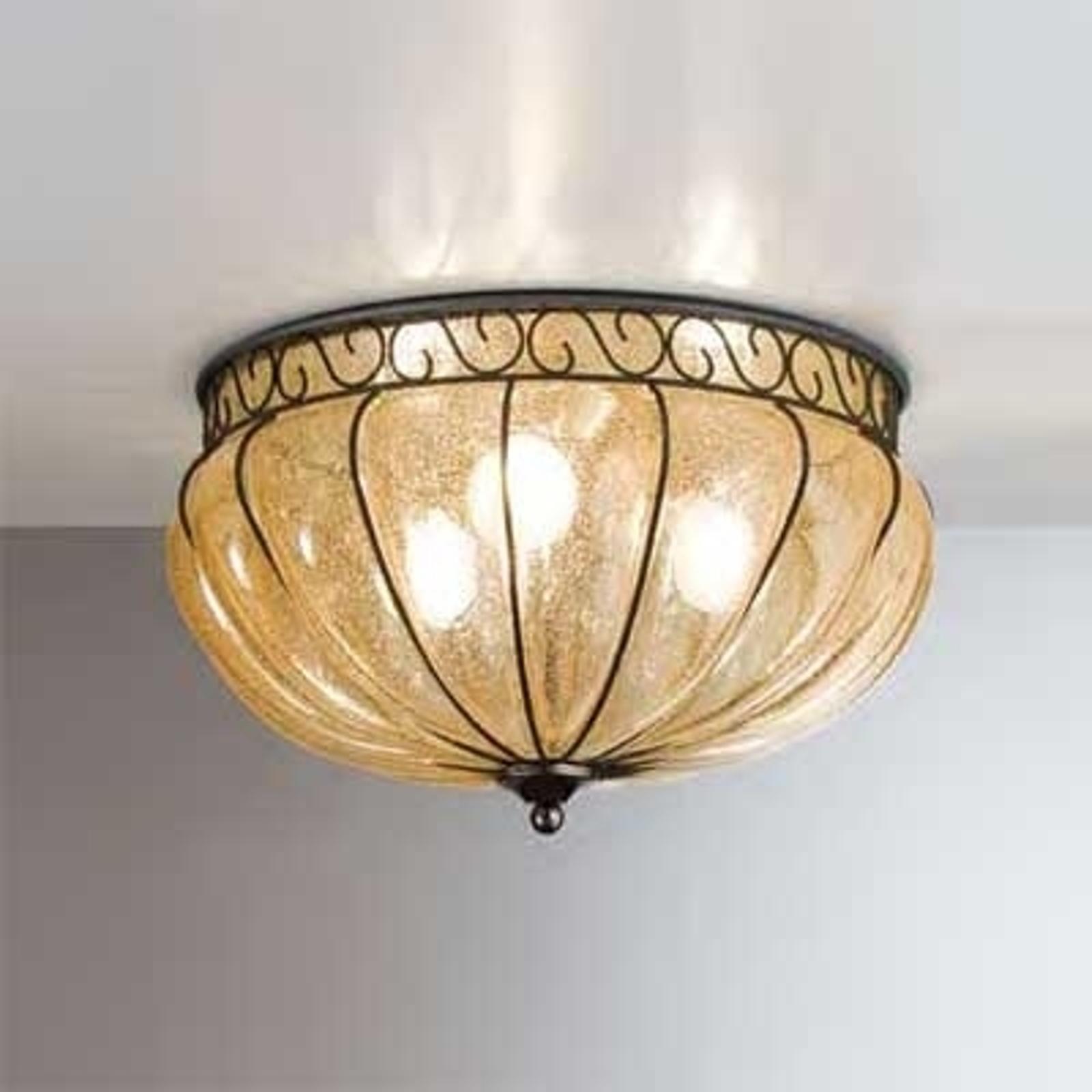 MARGHERITA klasyczna lampa sufitowa 37 cm