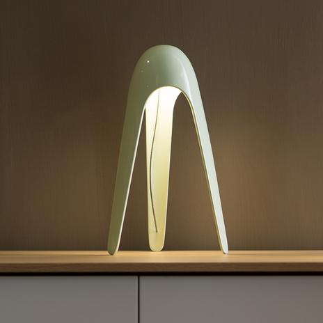 Martinelli Luce Cyborg - lampa stołowa LED