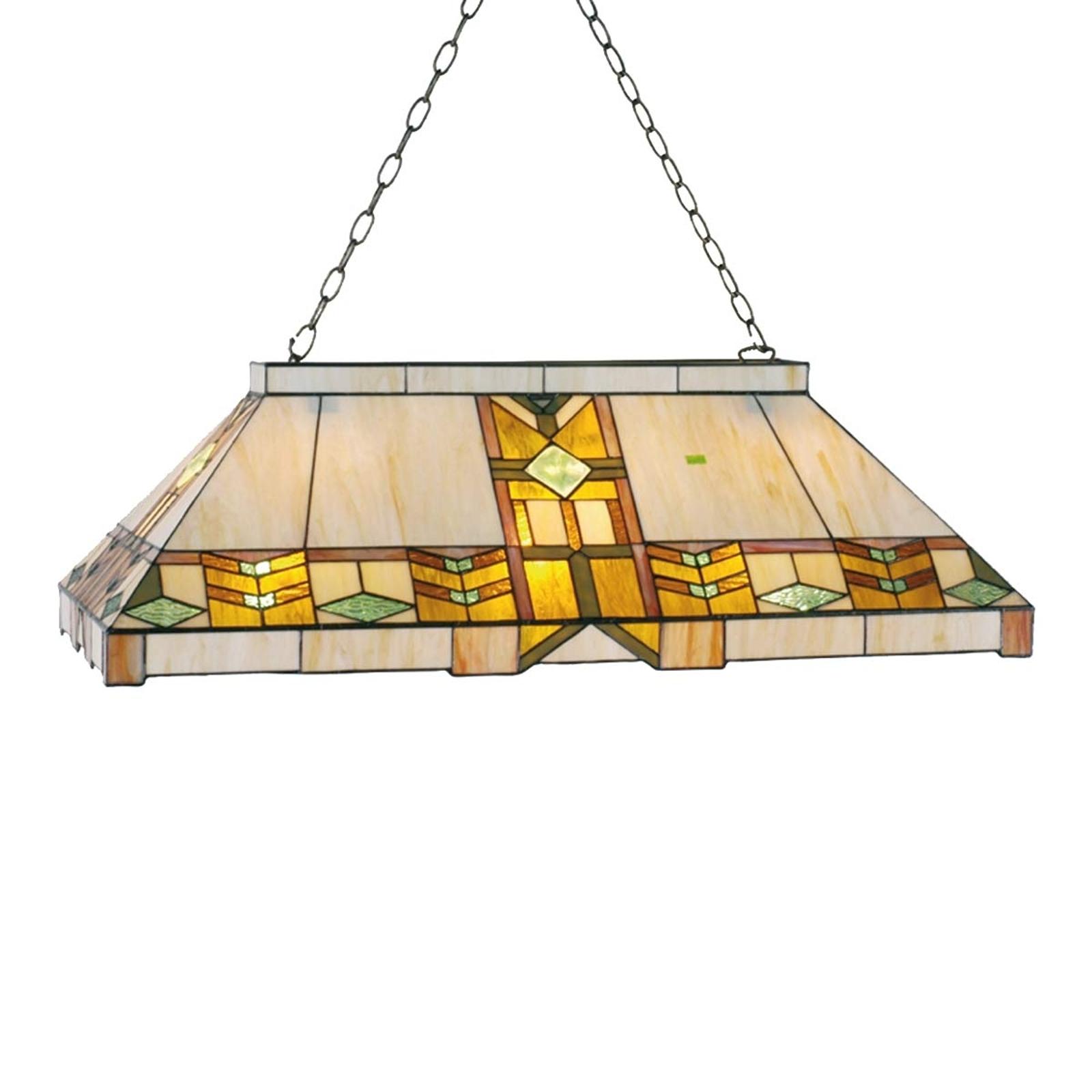 Lampa wisząca w stylu Tiffany Eddart