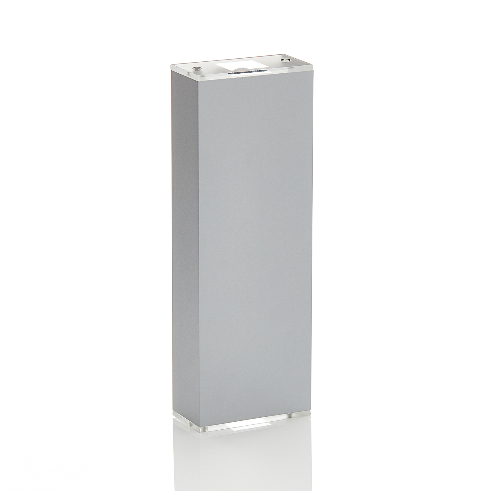 Lucande Anita LED wandlamp zilver hoogte 26cm