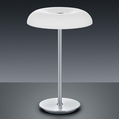 BANKAMP Vanity lampa stołowa LED niklowa