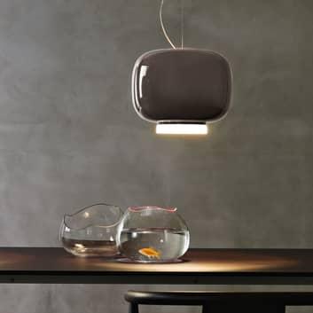 Foscarini MyLight Chouchin 3 LED-Hängelampe grau