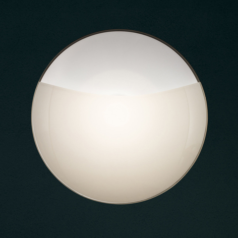 Wandlamp 1650/A15, wit mat, glasafdekking