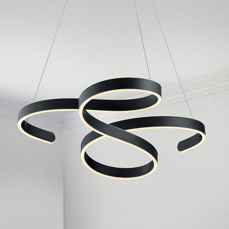 Lámpara colgante LED Francis, diseño alegre