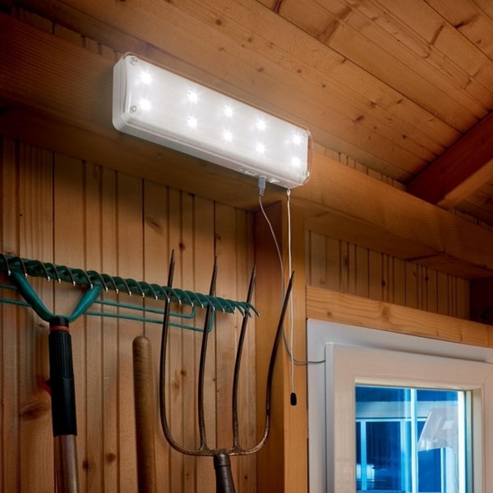 Solarljussystem med rörelsedetektor