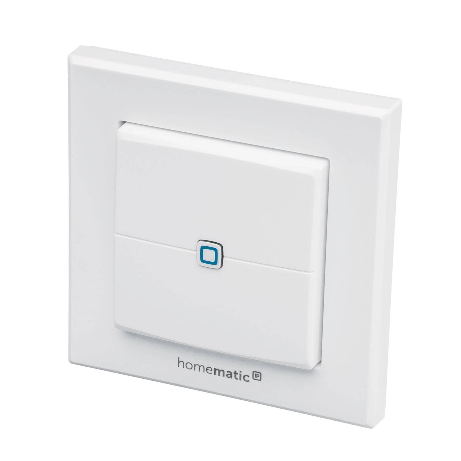 Homematic IP interruttore a parete doppio