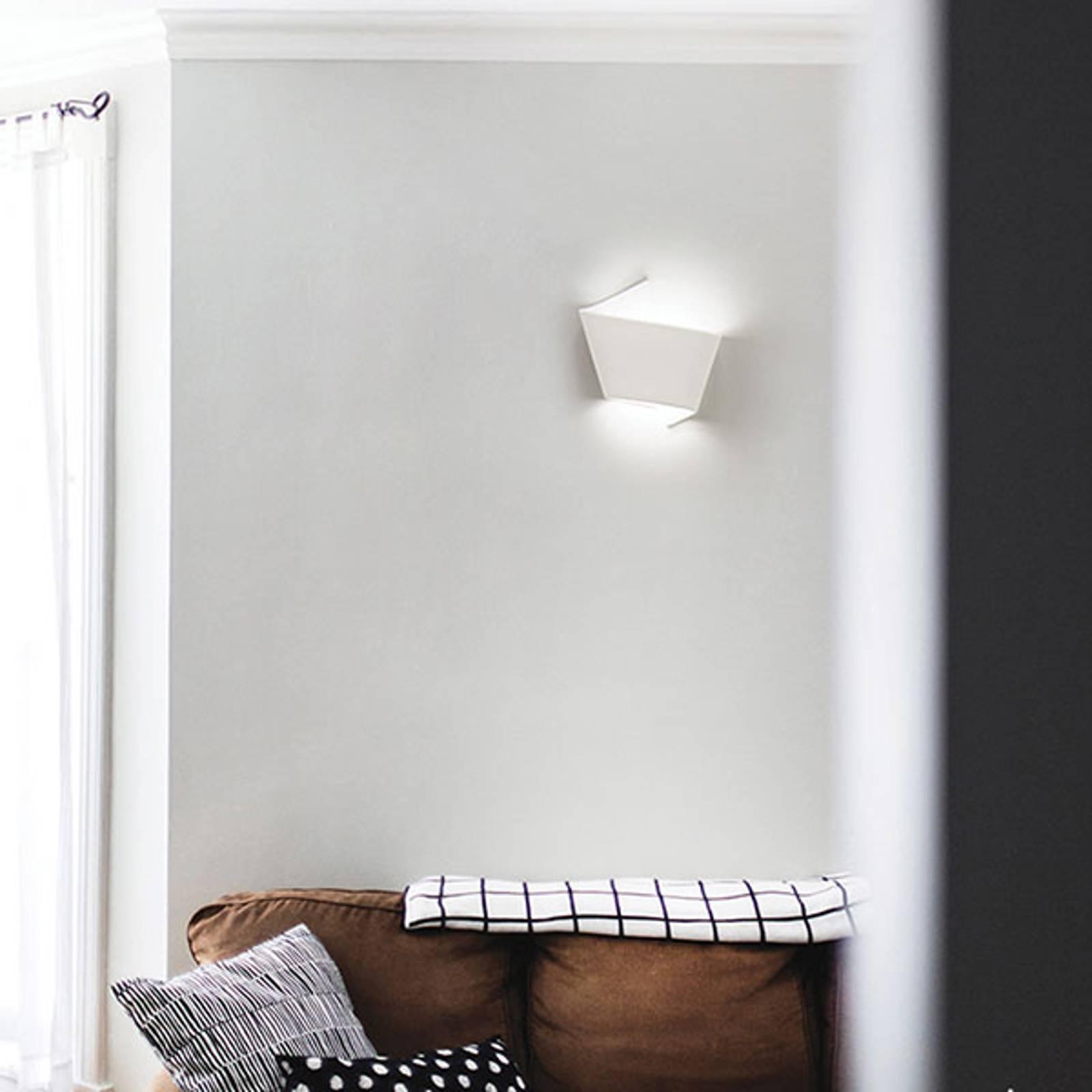 LED wandlamp 2498 keramiek 2.700 K dimbaar