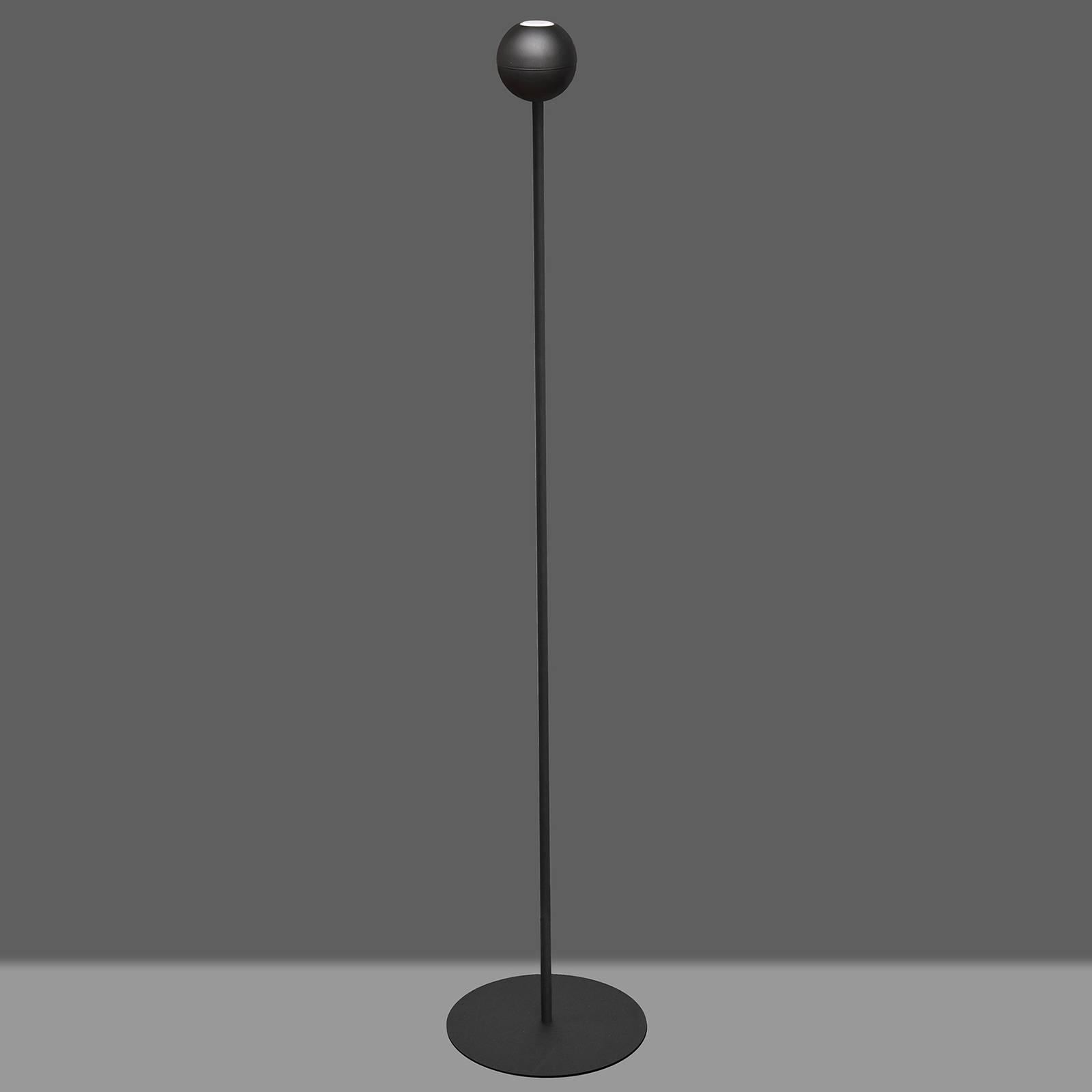Stehleuchte Midnight in Schwarz mit LED-Lampe