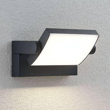 Aplique LED para exterior Sherin, rotatorio