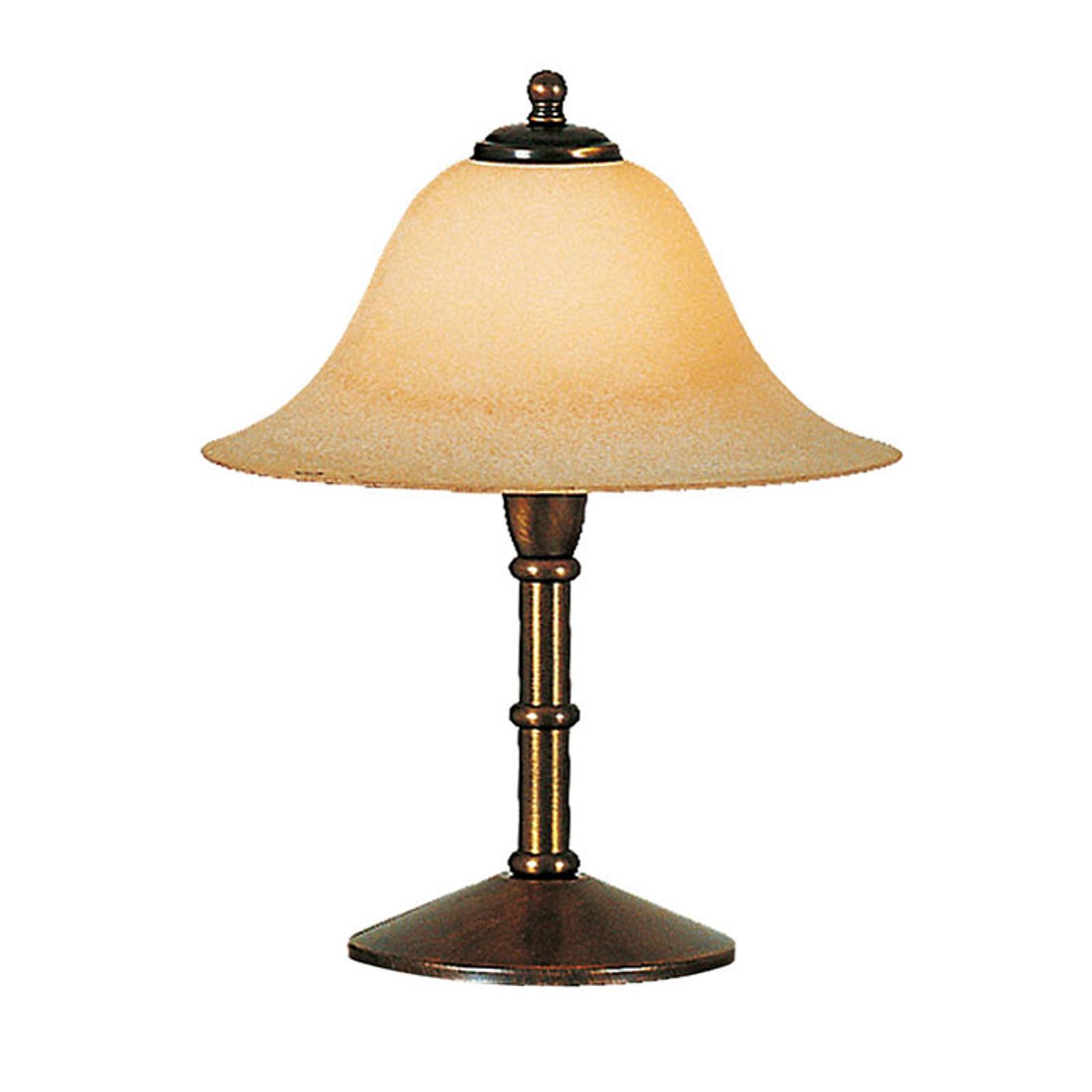 Menzel Anno 1900 lampa stołowa szklany klosz Scavo