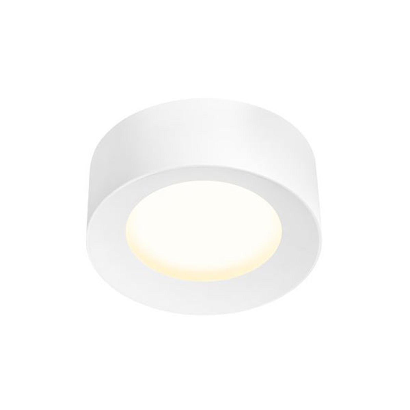 SLV Fera LED-Deckenleuchte, Ø 20 cm, weiß matt